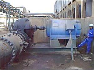 Rotor balancing in situ