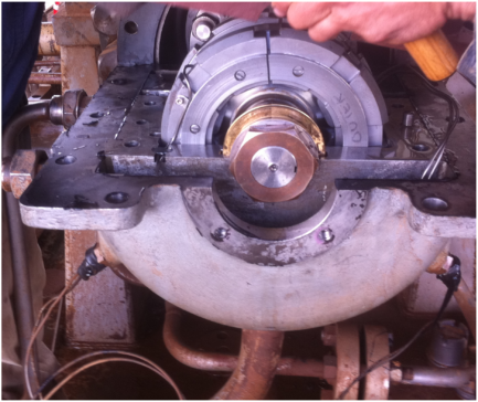 Diagnosis of rotating machinery faults - Case study